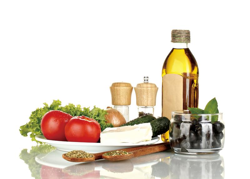 製作希臘沙律時,橄欖油是不可或缺的食材。