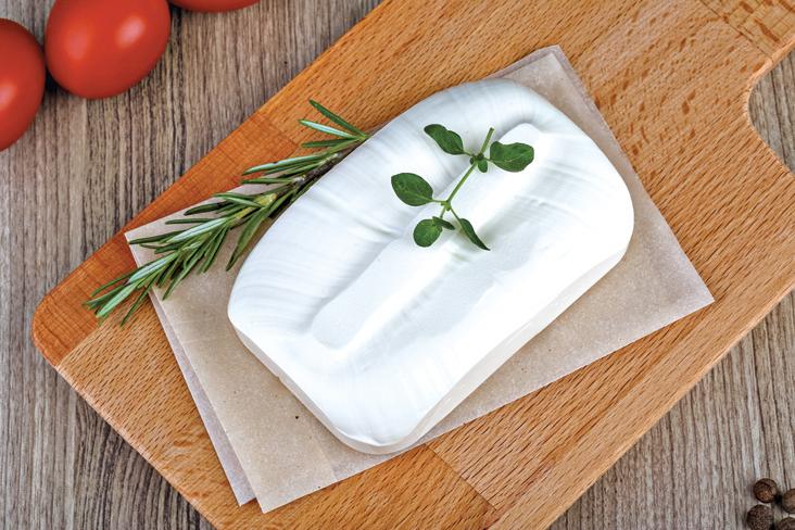 希臘的傳統食物費達芝士(Feta Cheese)。
