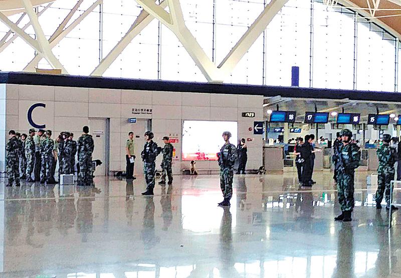 滬杭安保升級 浦東機場卻發生爆炸