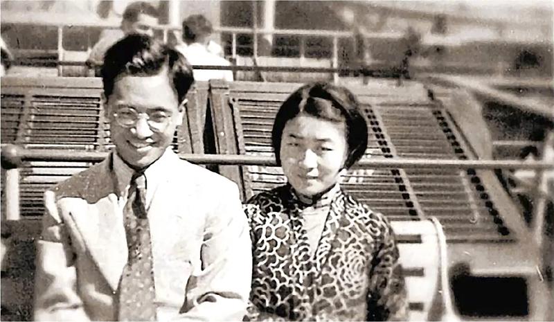 1935年8月,新婚的錢鍾書和楊絳搭乘郵輪赴英留學。(網絡圖片)
