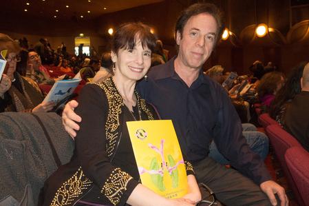 1月3日,斯坦福大學(Stanford university)交誼舞課程的舞蹈教授Ken Greer和妻子Sheana觀看了1月3日下午的神韻演出。(馬亮/大紀元)