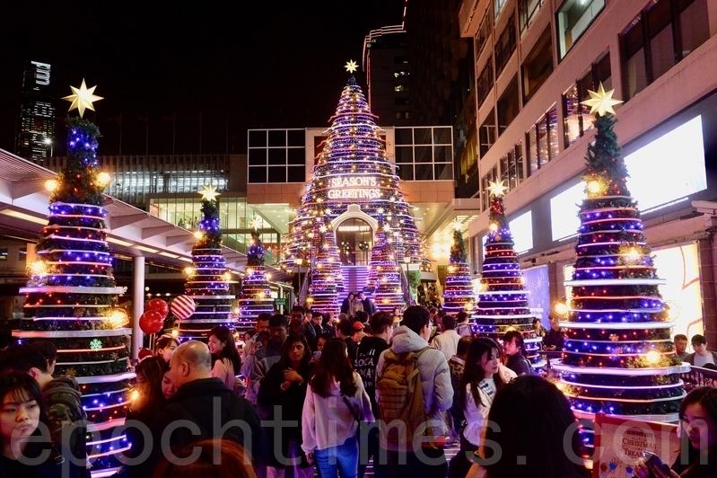 2018香港聖誕燈飾