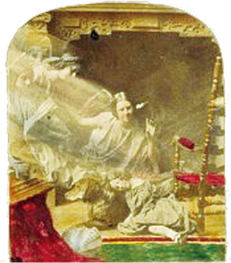 詹姆斯‧埃利奧特(James Elliott)的《孤兒之夢》(The Orphans Dream),作於1855年至1865年。