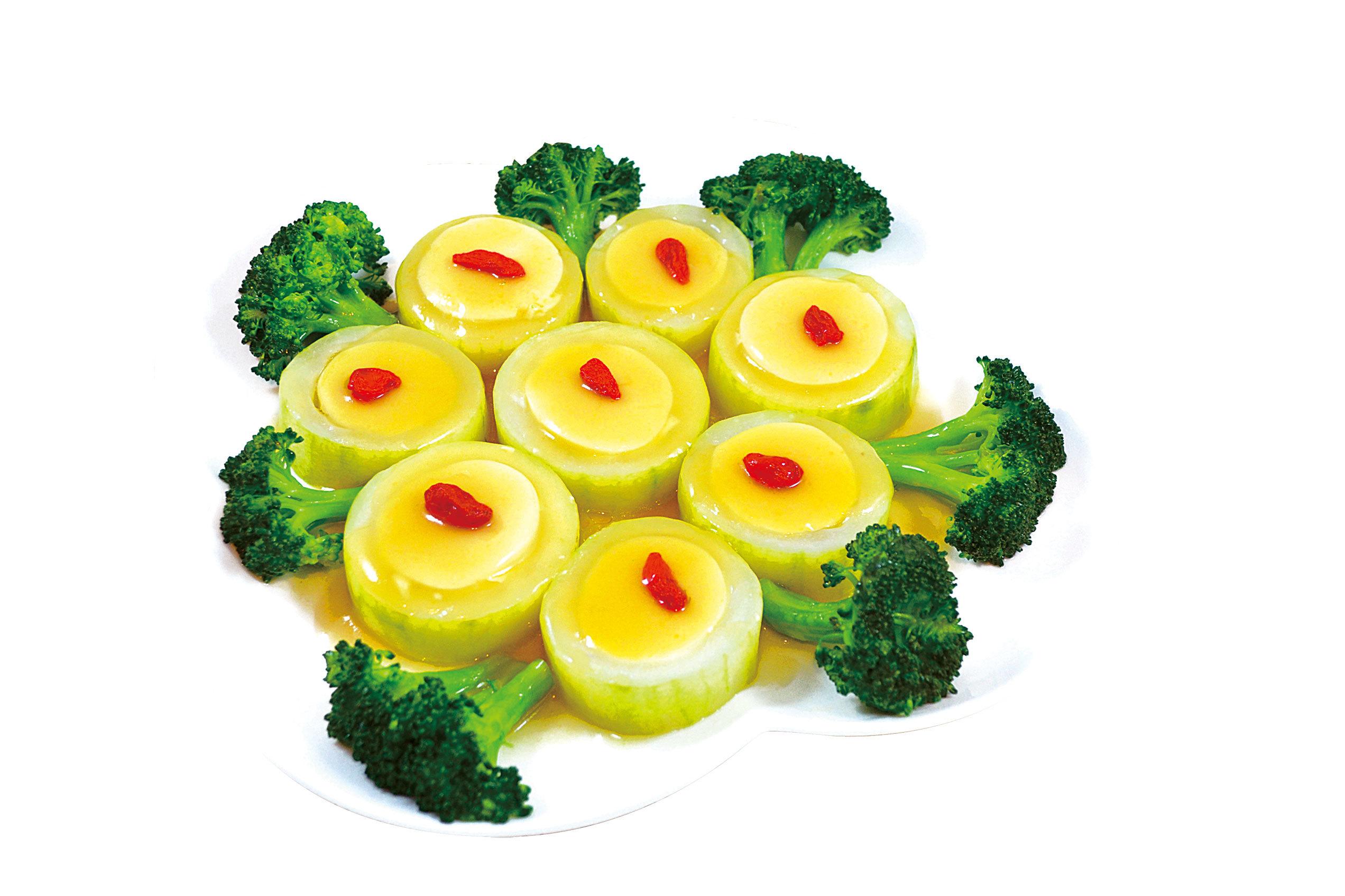 【梁廚美食】玉子豆腐釀瓜環