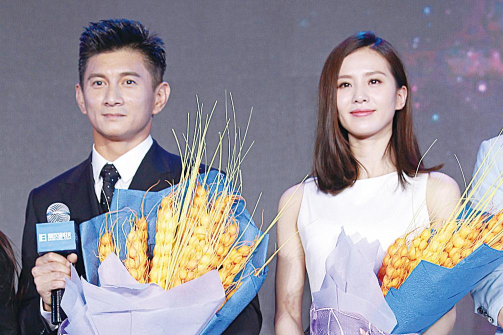 吳奇隆與太太劉詩詩。(資料圖片)
