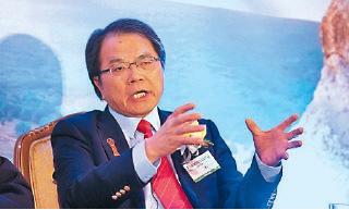 資深投資家梁伯韜認同李嘉誠的看法,指香港目前看不清前景。(余鋼/大紀元)