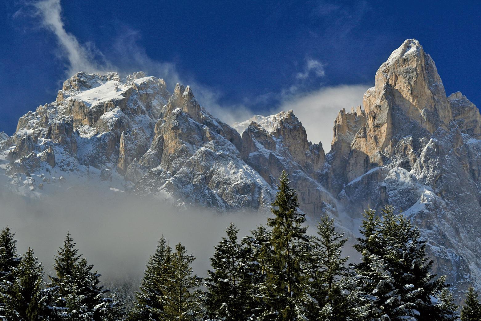 意大利多洛米蒂山脈。(David J. Mark/維基百科)