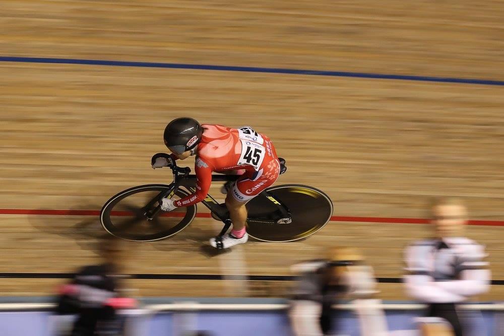 李慧詩第2日在女子凱琳賽的表現。(Cycling Australia facebook)