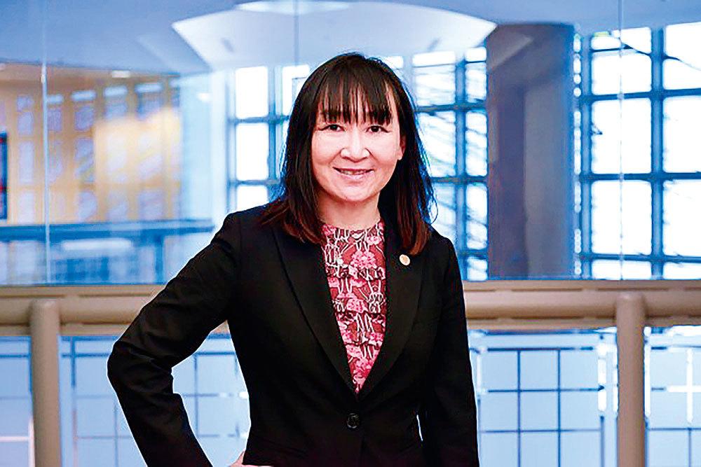 加拿大律師公會卑詩分會2015-2016年度主席曹劍琴。(景浩/大紀元)