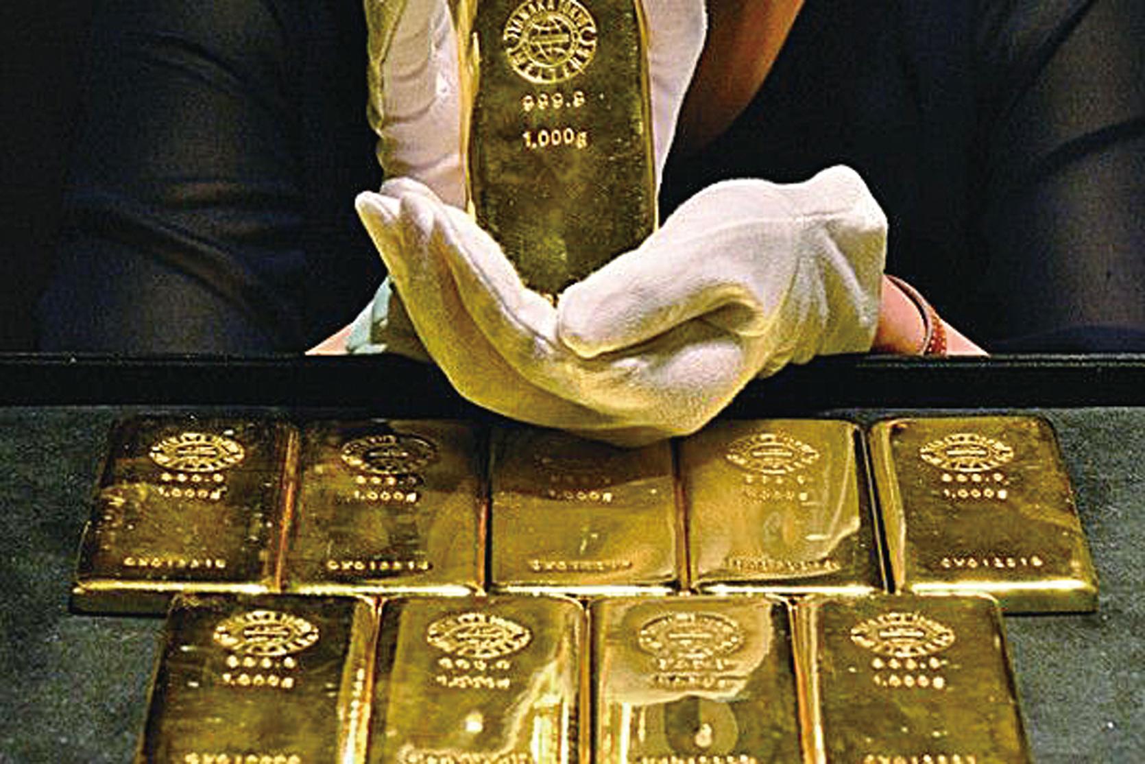 香港流入大陸黃金量新高