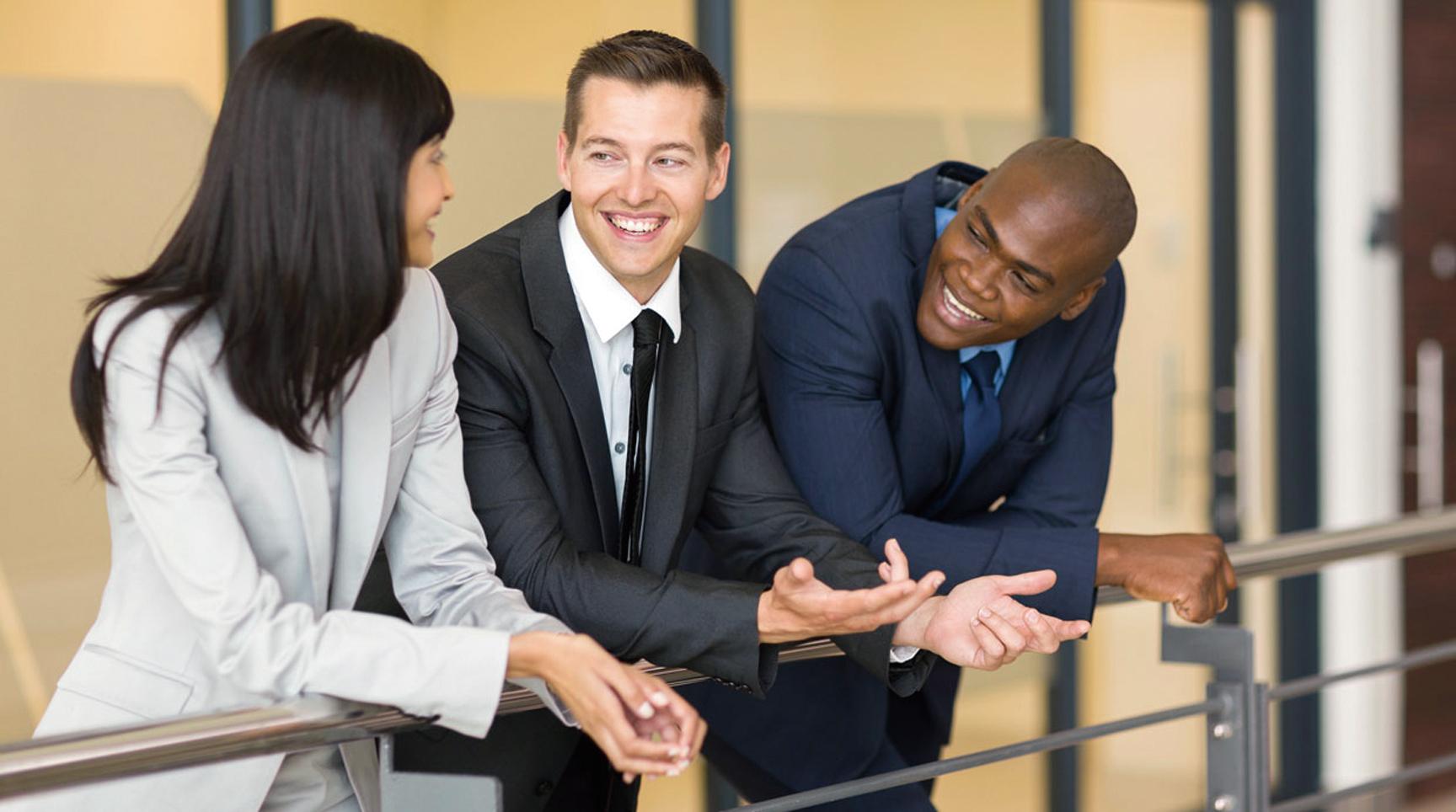 閒聊能力也是一種職場技能
