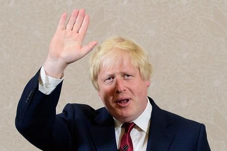 周四(6月30日),一度被視為熱門候選人的前倫敦市長約翰遜(Boris Johnson),宣布不會參選保守黨新黨魁及首相一職,令外界頗感意外。(LEON NEAL/AFP/Getty Images)