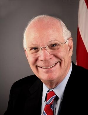 美國聯邦參議院外委會副主席﹑亞太小組民主黨首席議員班・卡定(Ben Cardin)。(官方網站照片)