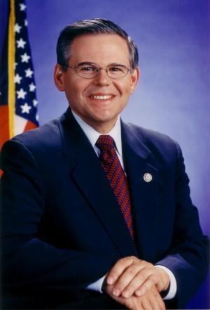 美國聯邦參議院外委會前主席﹑資深參議員羅伯特・梅南德斯(Robert Menendez)。(官方網站照片)