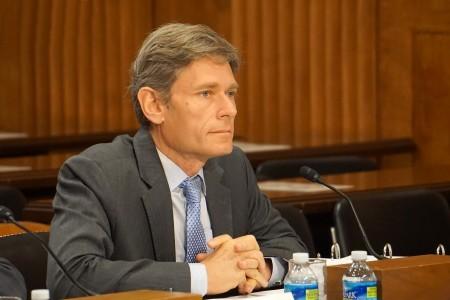 美國國務院主管民主人權和勞工事務的助理國務卿馬力諾夫斯基(Tom Malinowski)。(林帆/大紀元)