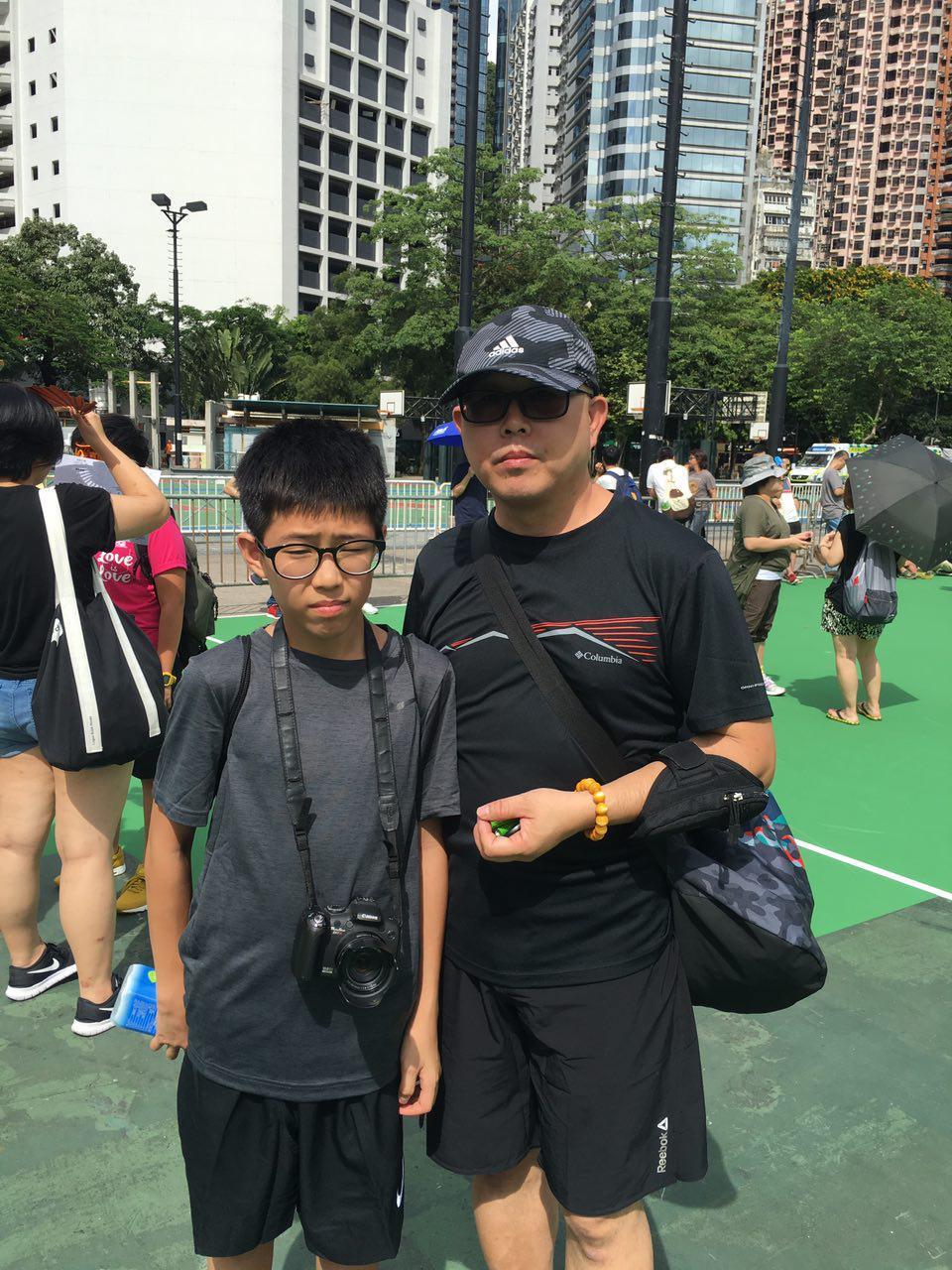【七一遊行】美術界梁先生:香港人 不要做旁觀者