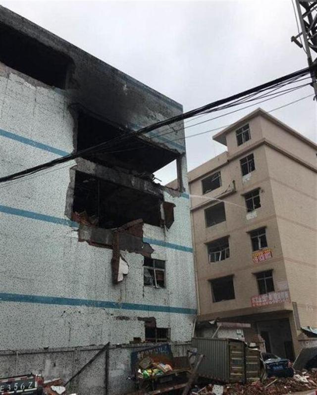 深圳一家電子廠爆炸發生爆炸。(網路圖片)