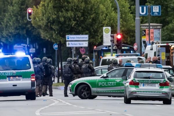 慕尼黑槍擊案10死 全城進入緊急狀態