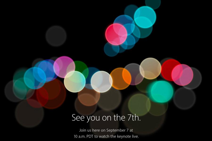 蘋果9月7日發佈會 料將發佈新一代手機
