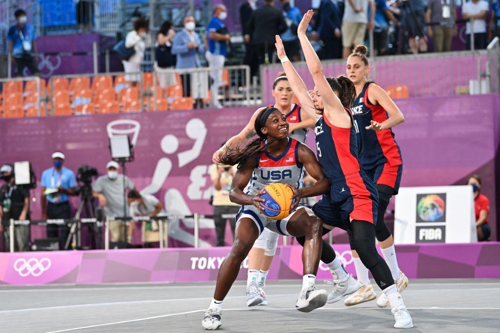 東奧7.24|3x3籃球首登場奧運 女子賽美17:10勝法 美第一夫人到場打氣