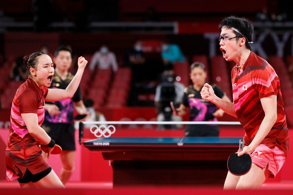 東奧7.27|奧運新增項目「混乒」日本首奪乒乓球金牌