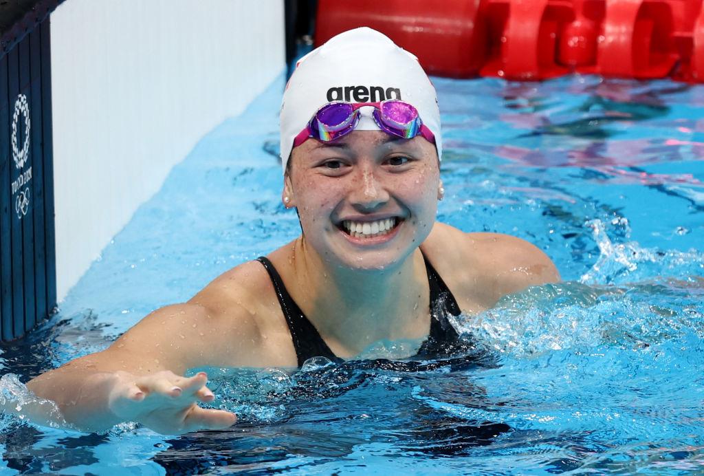 東奧7.28|何詩蓓女子200米自由泳奪銀牌