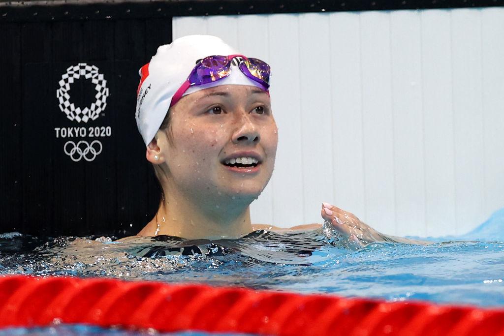 【喜訊】東奧7.30|何詩蓓100米自由泳奪銀 以52.27秒三破亞洲紀錄