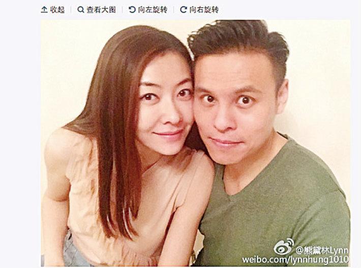 郭富城前女友熊黛林 閃嫁富二代郭可頌