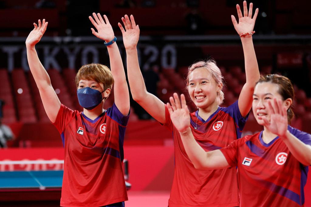 東奧8.5|港隊女乒團勇奪銅牌 以3:1擊敗德國