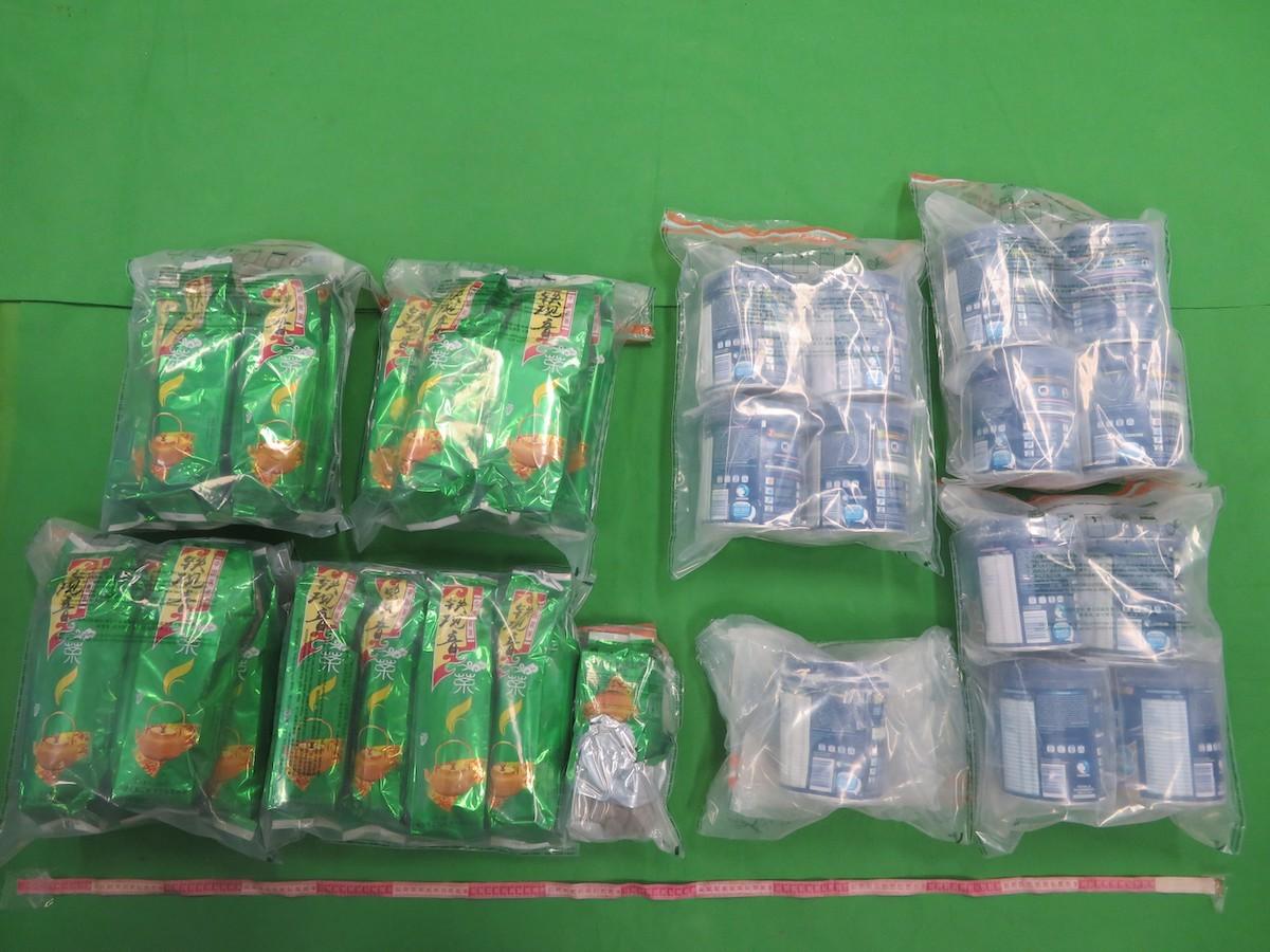 海關打擊包裹偷運毒品到港  行動中拘捕兩人包括一名15歲青年