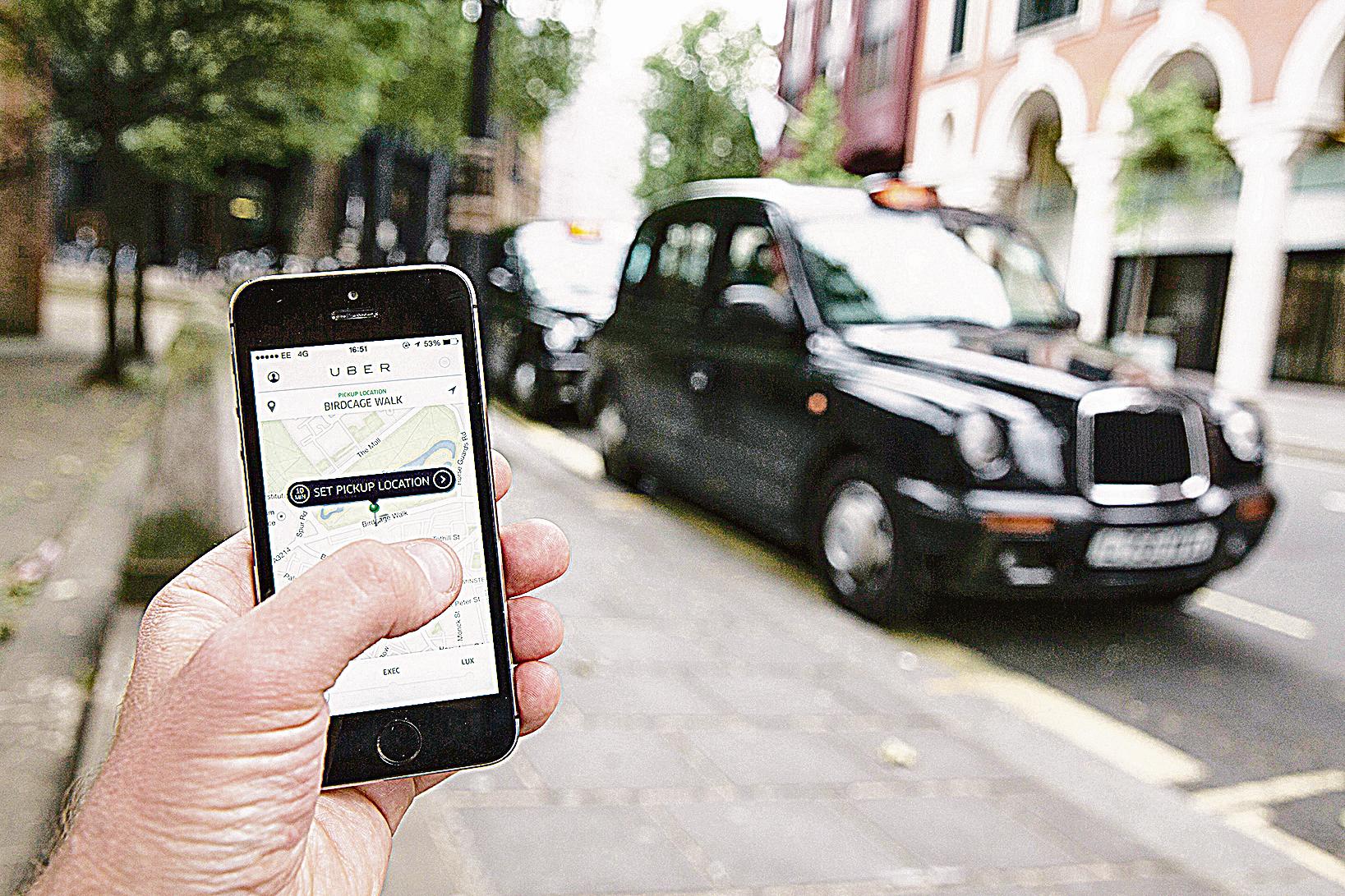 從Uber爭議 看共享經濟