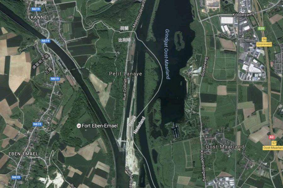 解邊境土地主權 荷蘭比利時換國土