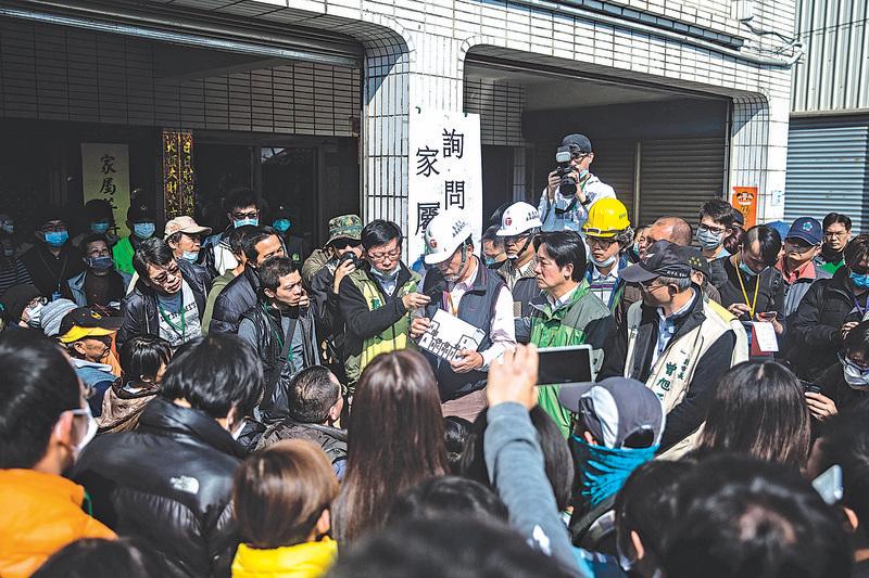 台南地震 不分藍營綠營、中央地方 各界齊心救災