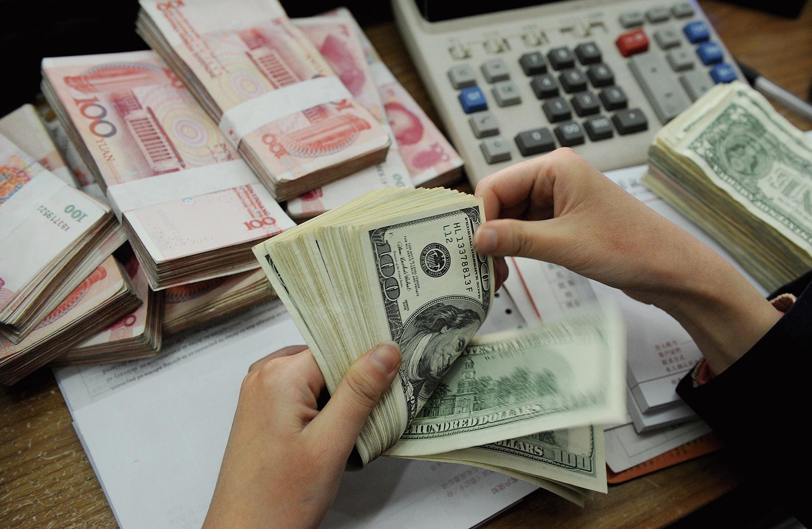 中國11月外儲暴減690億美元