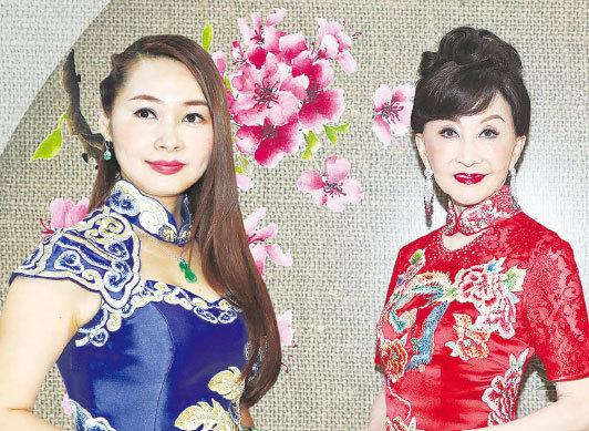 鄭明明展現傳統女性美態 陳昭昭望多收藏中國旗袍