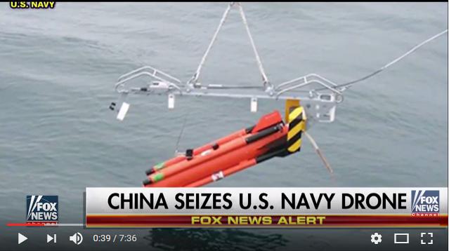 南海潛航器紛爭 五角大樓:中方將歸還