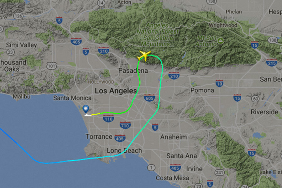 長榮洛杉磯險撞山 FAA正式回應這麼說