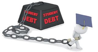 美男性大學生畢業薪酬較高 更易清還貸款