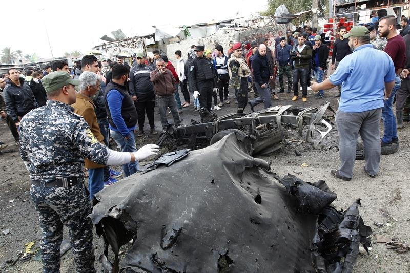 伊拉克炸彈襲擊32人死61傷 IS宣稱犯案