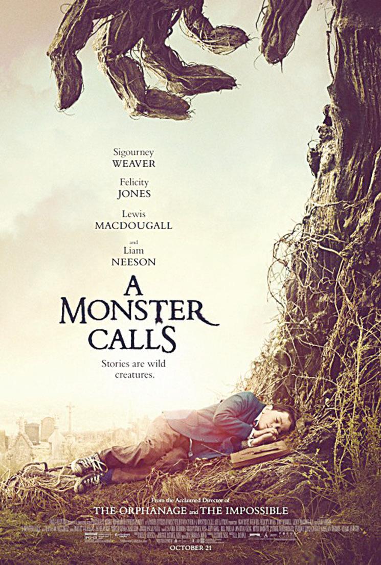 【新片速遞】《魔樹奇緣》(A Monster Calls)