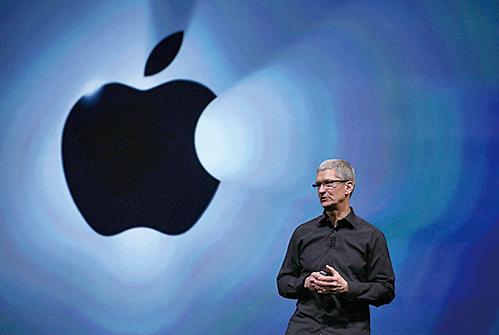 蘋果2016年銷售未達標 庫克減薪160萬美元