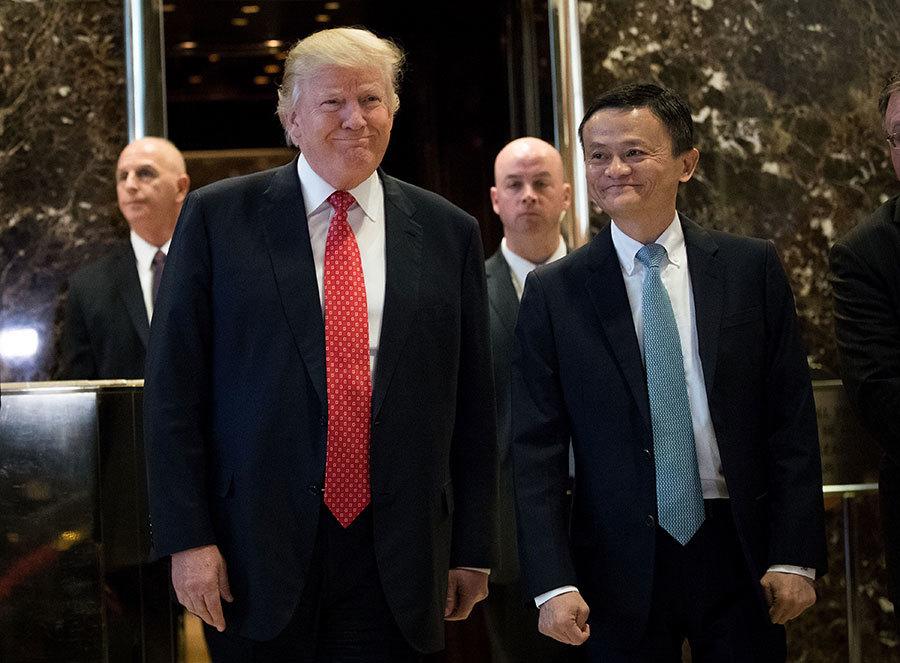 特朗普與馬雲在紐約見面 兩人談了甚麼
