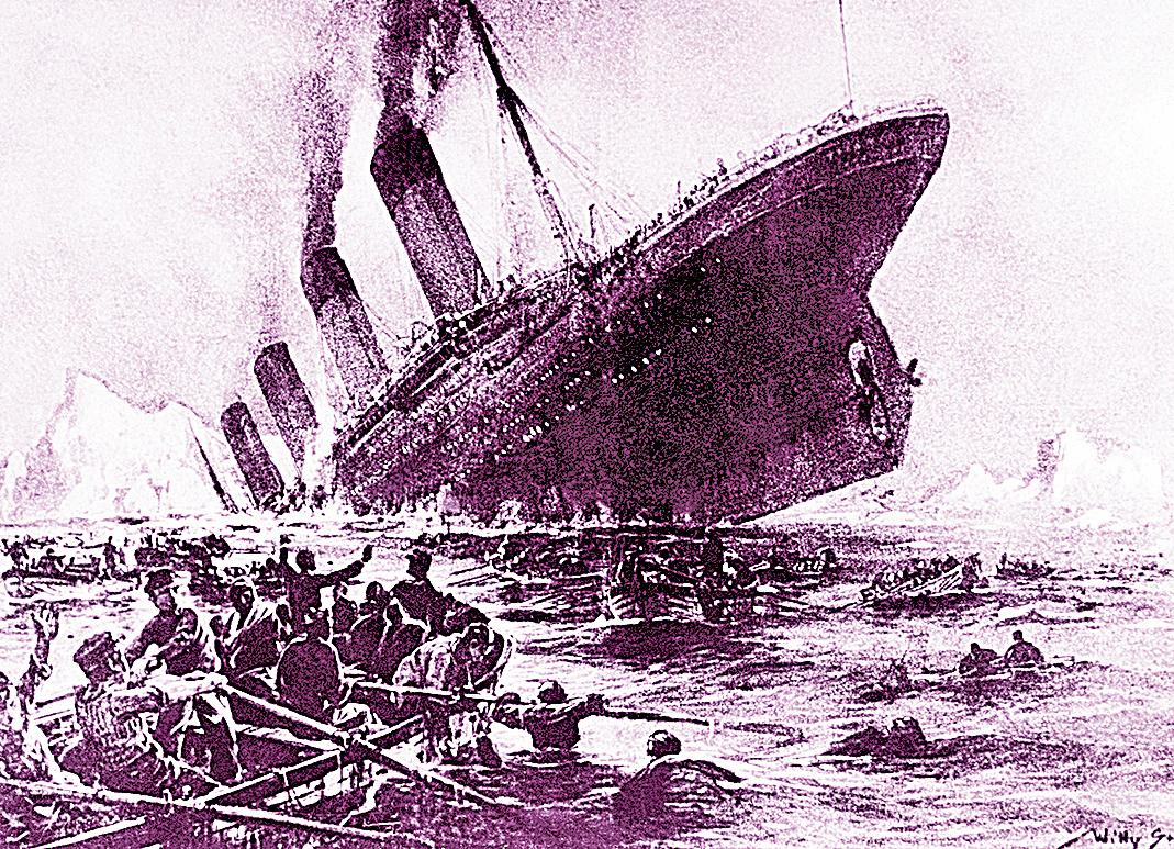 鐵達尼號撞冰山沉船  專家:大火是禍首