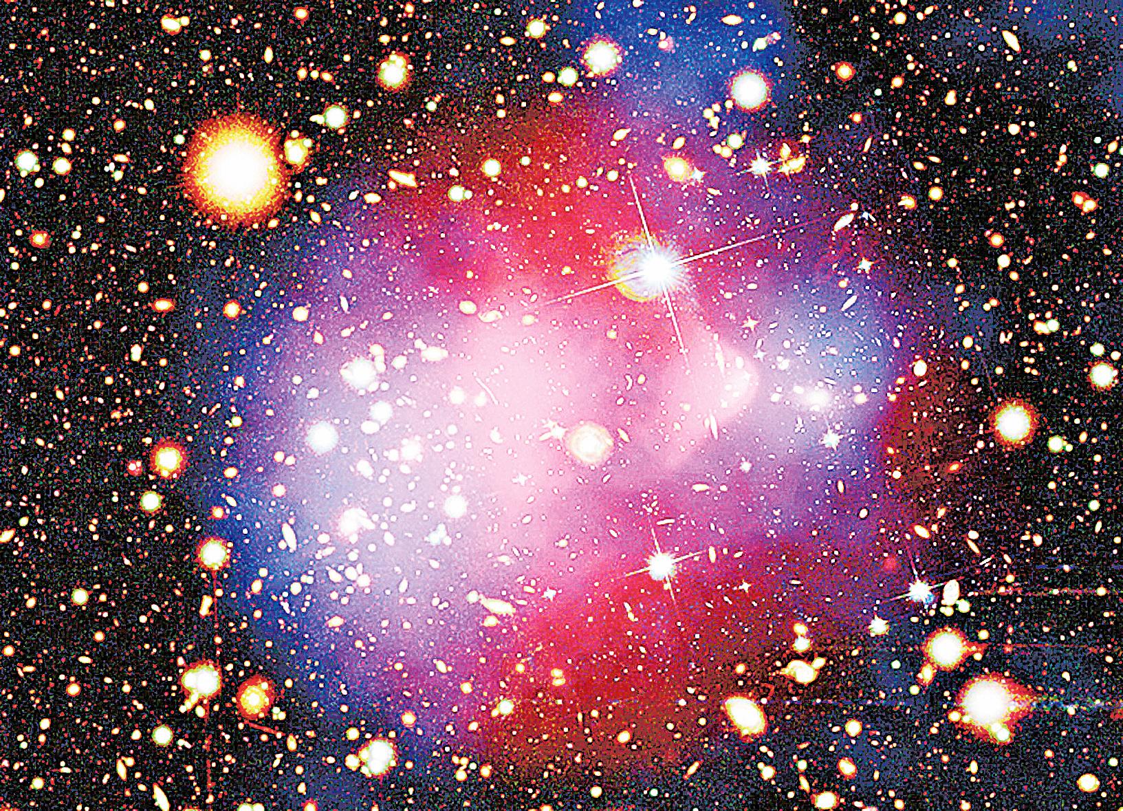 研究宇宙部份暗物質丟失