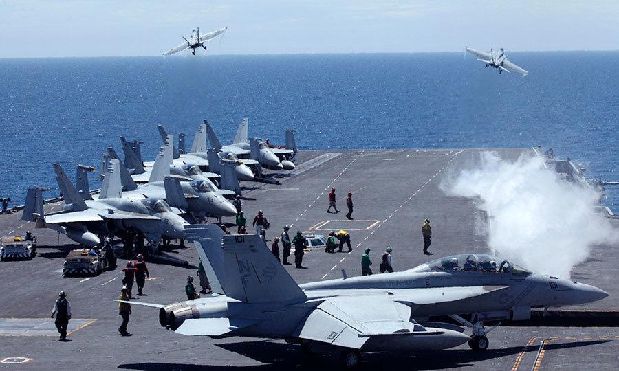中共十軍機闖防空區 韓戰機升空警告