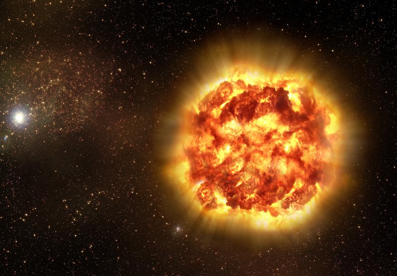 天文預測:五年後人將目睹星體在眼前爆炸