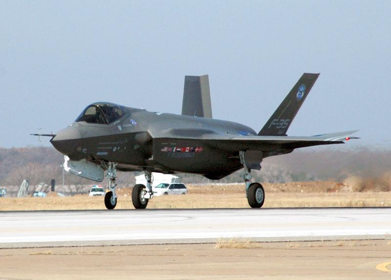 美軍十架F-35戰機飛日本 首度部署於海外