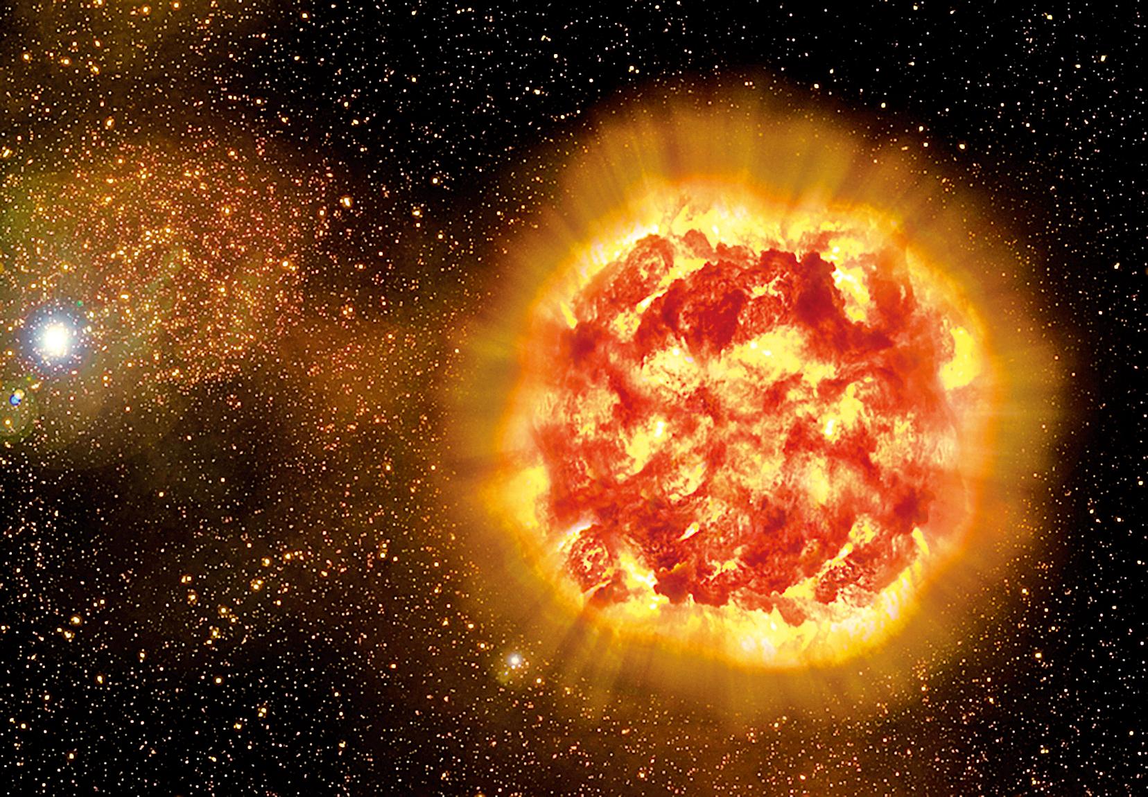 五年後人或目睹星體爆炸