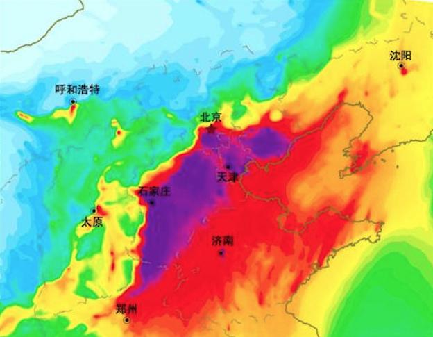 「不可描述的天氣現象」再襲京津冀