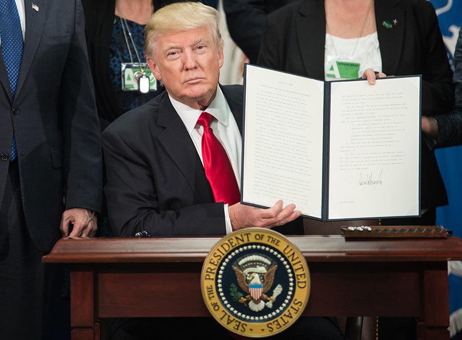 行政命令——看美國總統如何創造歷史